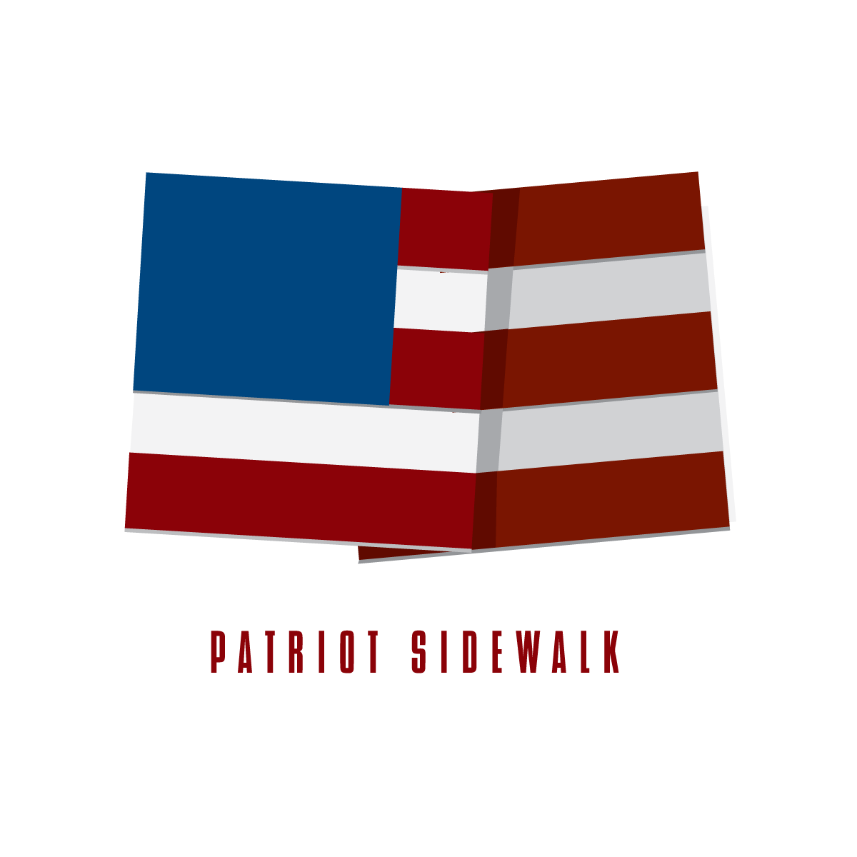 patriot sidewalk logo