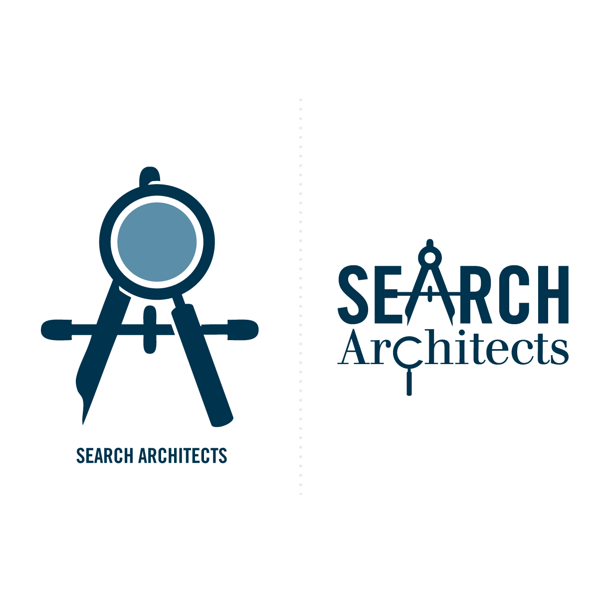 search architects logo wordmark