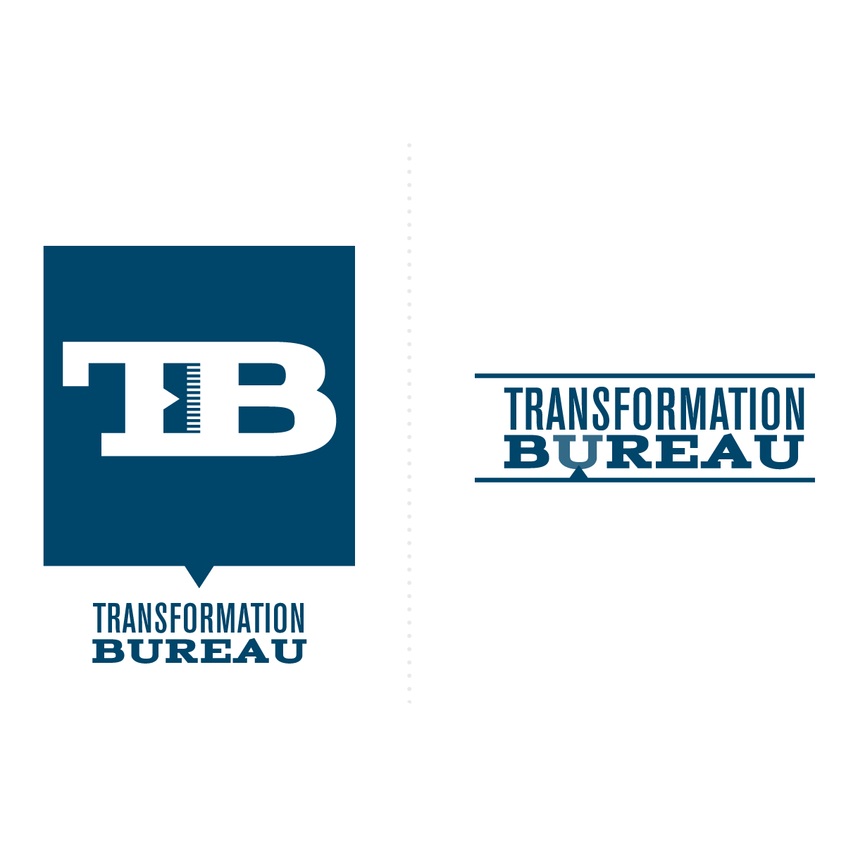 transformation bureau logo wordmark